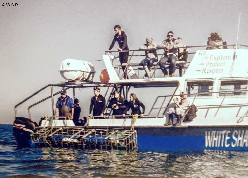 SUDAFRICA a bordo del Ocean explorer