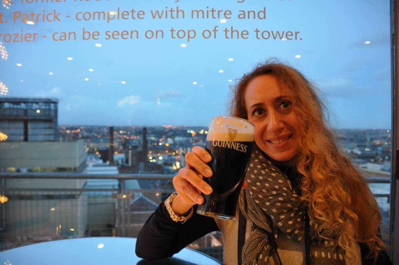 IRLANDA tower bar Guinness