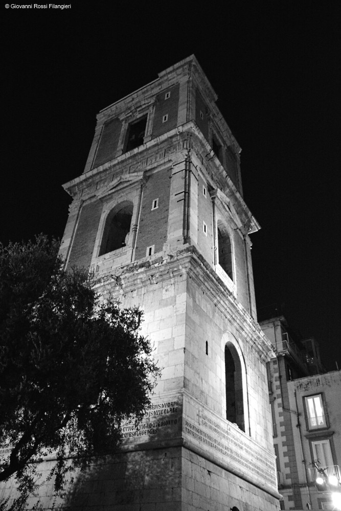 BASILICA DI SANTA CHIARA campanile