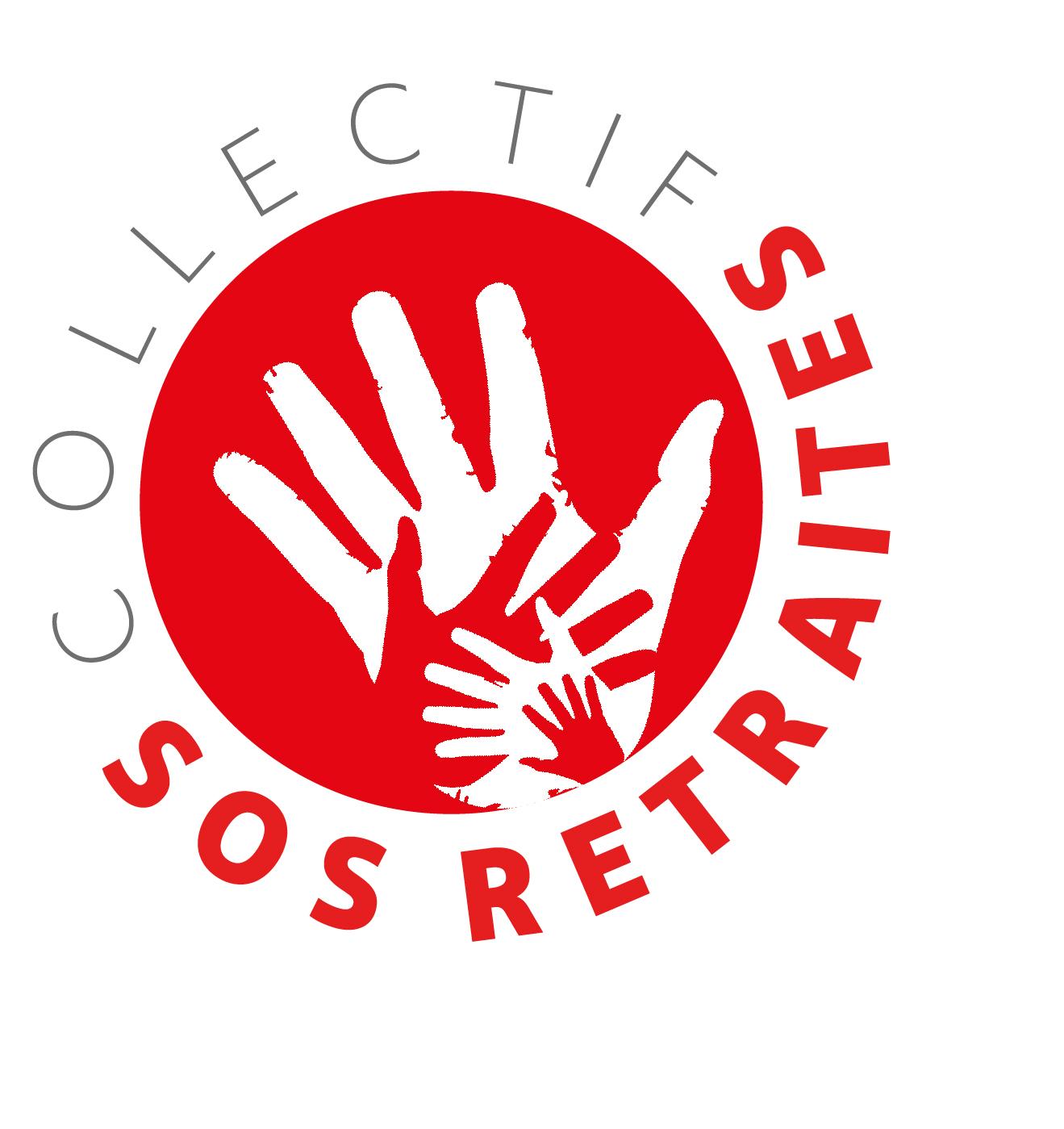 Logo SOS Retraite - Grève des avocats du 5 décembre 2019