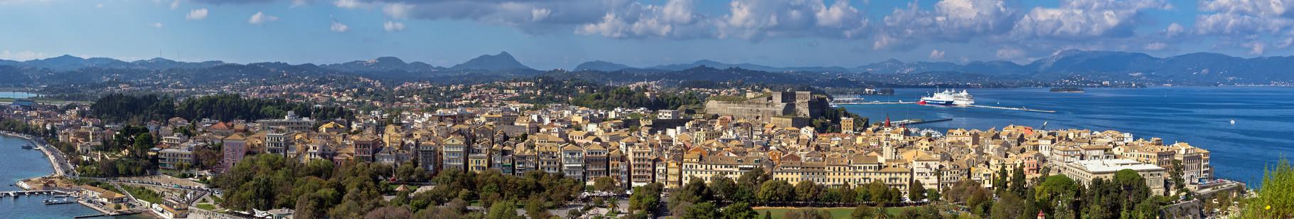 Korfu Stadt - Griechenland