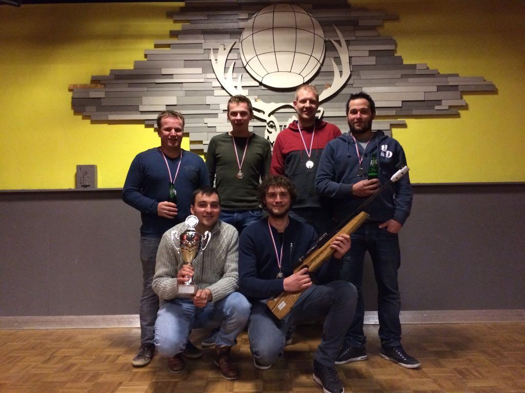 Kampioen Atlantic 6 Klasse D1 2017-2018