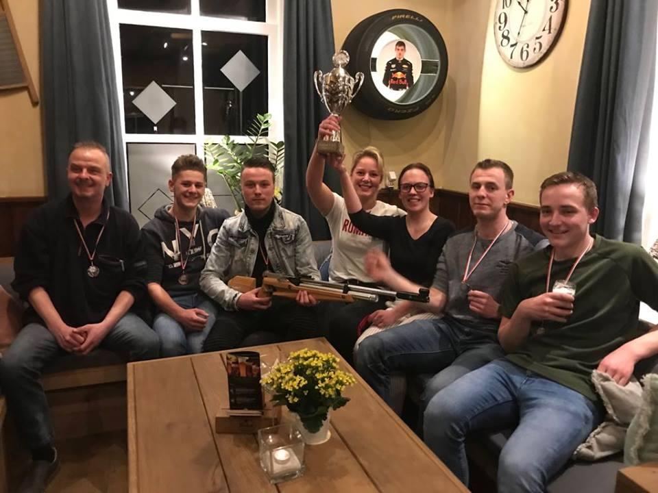 Kampioen Treffer 9 Klasse D3 2017-2018