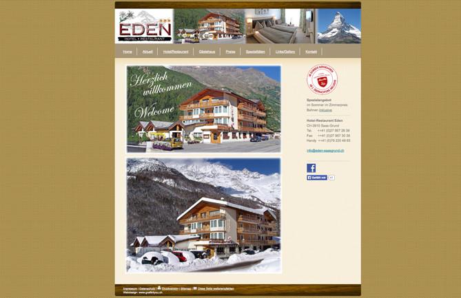 Hotel-Restaurant Eden, Saas-Grund