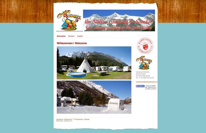 Camping Schönblick, Saas-Grund