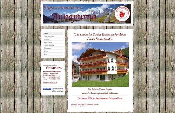 Haus Annapurna, Saas-Grund