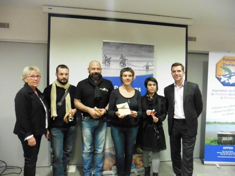 """les lauréats du concours """"bulles de cuir"""" 2015"""