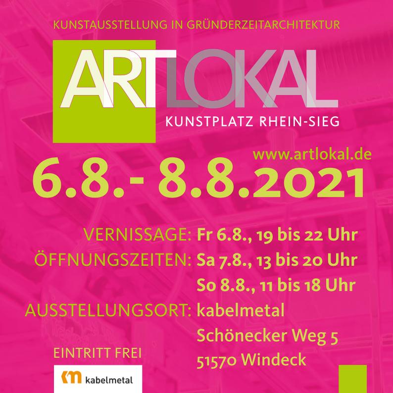 ARTLOKAL 06.-08.08.2021