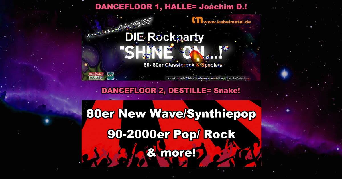 02.10.2021 - 20h - Rockparty Shine on