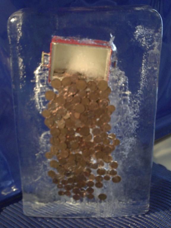 Einfrierung:Geldregen