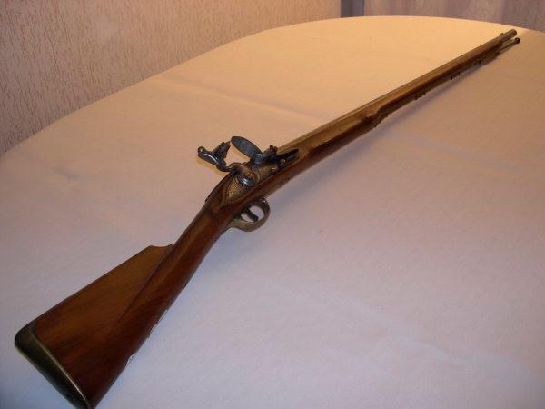 MIQUELET- mousquet réglementaire à silex à canon lisse de calibre supérieur à 13,5 mm, position debout, distance 50m, cible C200 (Origine et Réplique)