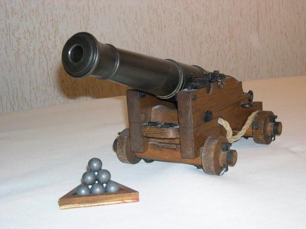 canon de marine 1778-1786