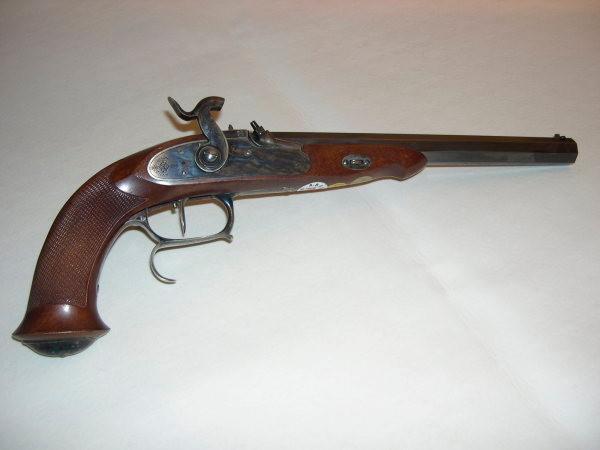 Epreuve KUCHENREUTER- pistolet à percussion - un coup - canon rayé, tous calibre (Origine et Réplique)