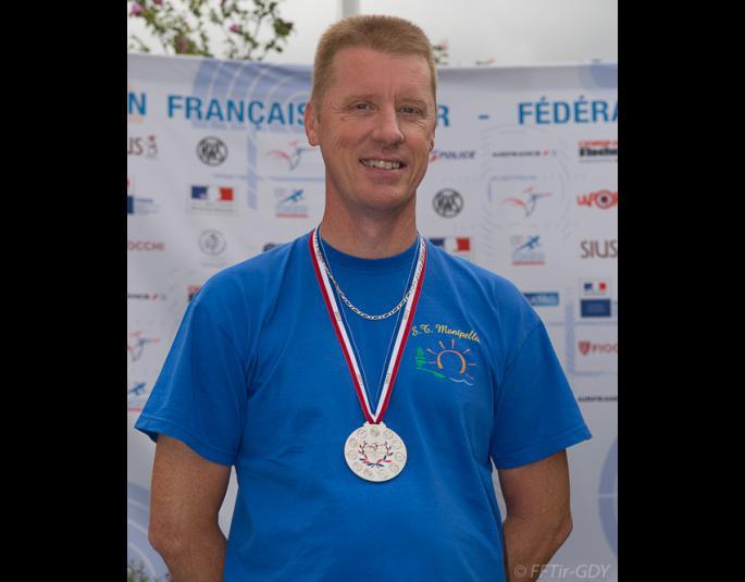 FRANCK médaille d'argent au cou !