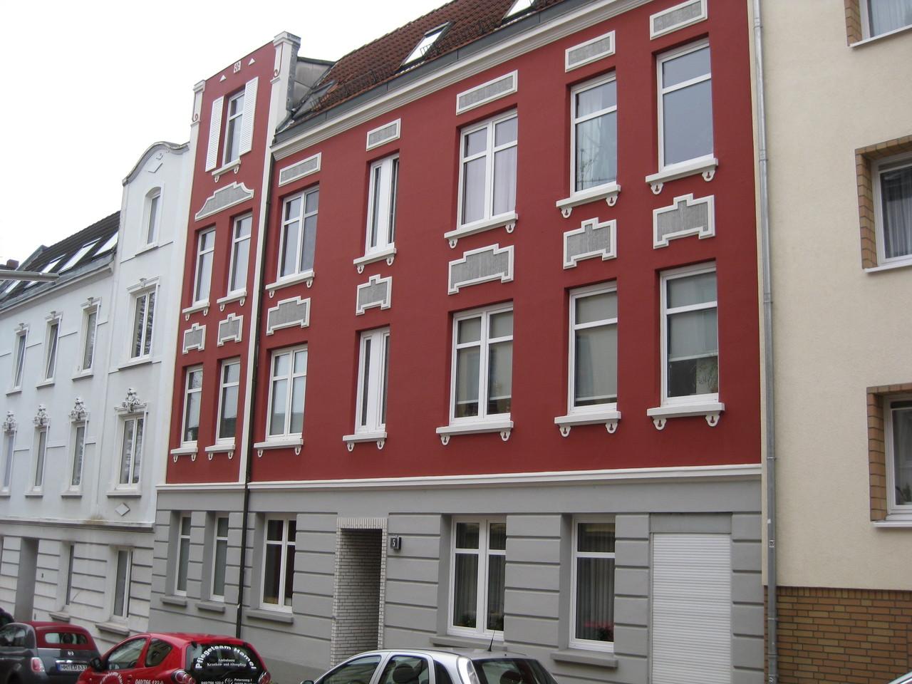 Fassadenbeschichtung nachher 1