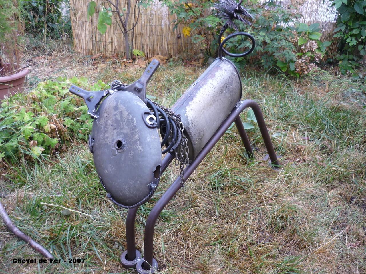 le cheval de fer Catherine Pezaire