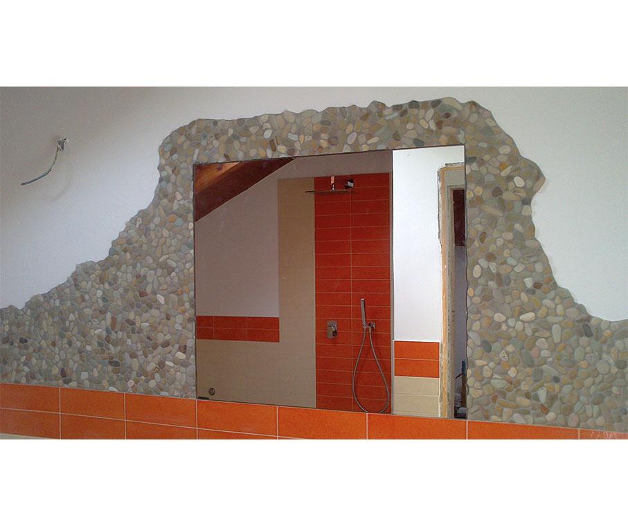 Specchio Sagomato Gatto Silvestro : Galleria vetreria barison