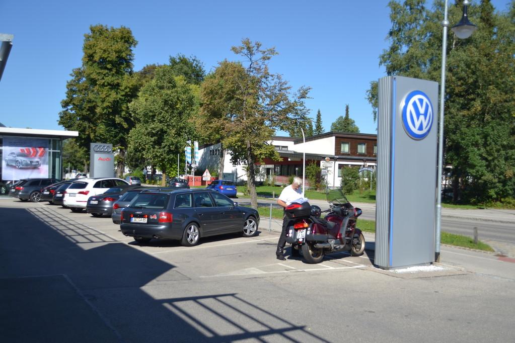 Audi kaputt, weiter gehtr es mit dem Moped