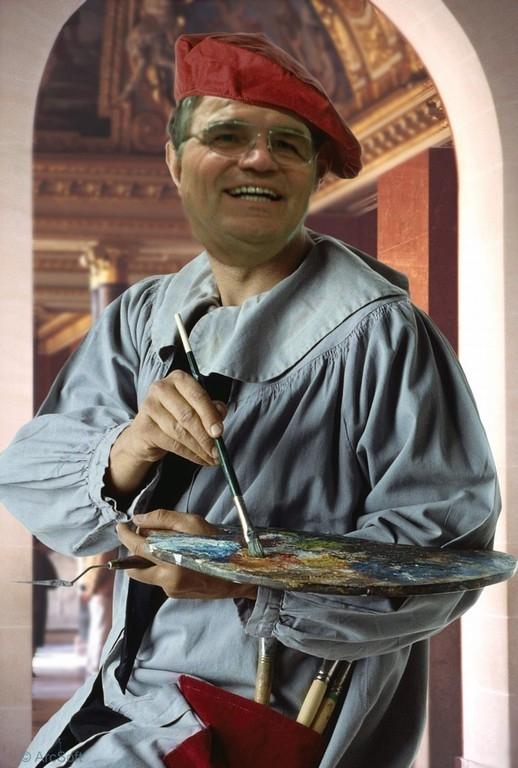 Rolf als Maler