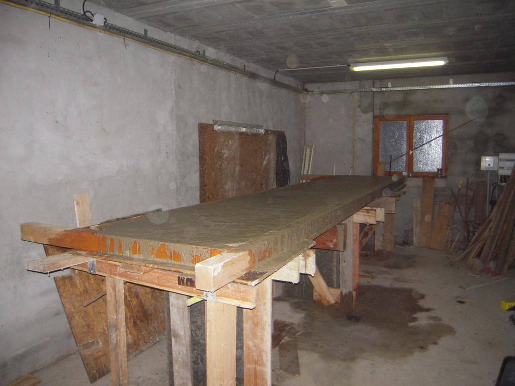 2009-travaux pour l'installation du quai de traite