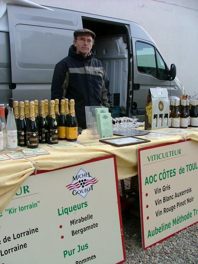 Michel Goujot et ses vins
