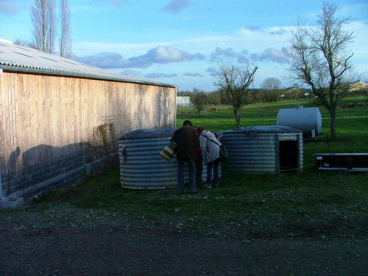 Une maison de cochons inhabitée...