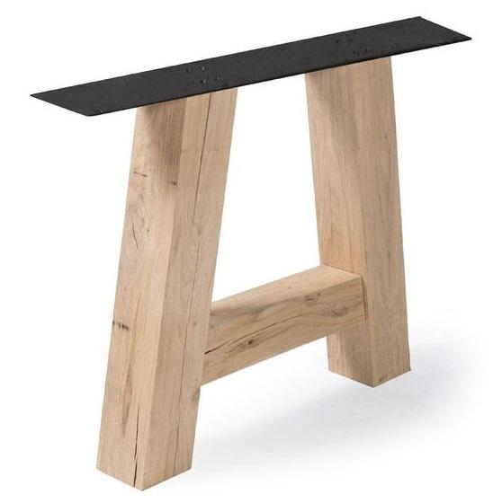 Tischgestelle aus Eiche