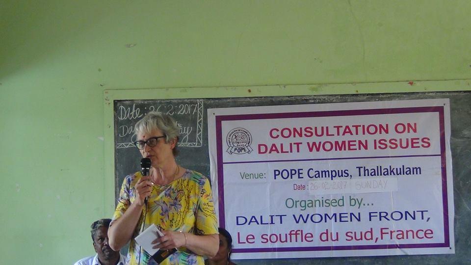 Cécile délivre un message pour la cohésion et les droits des femmes, programmes chers au Souffle du Sud en plus de l'éducation des enfants.