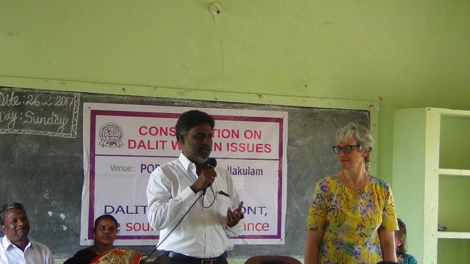 En février, Cécile s'est rendue au Tamil Nadu à la rencontre de POPE