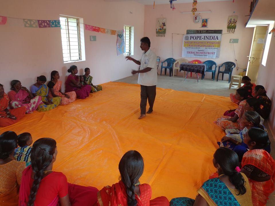 Janvier 2015 - Programme de sensibilisation sociale dans les tribus