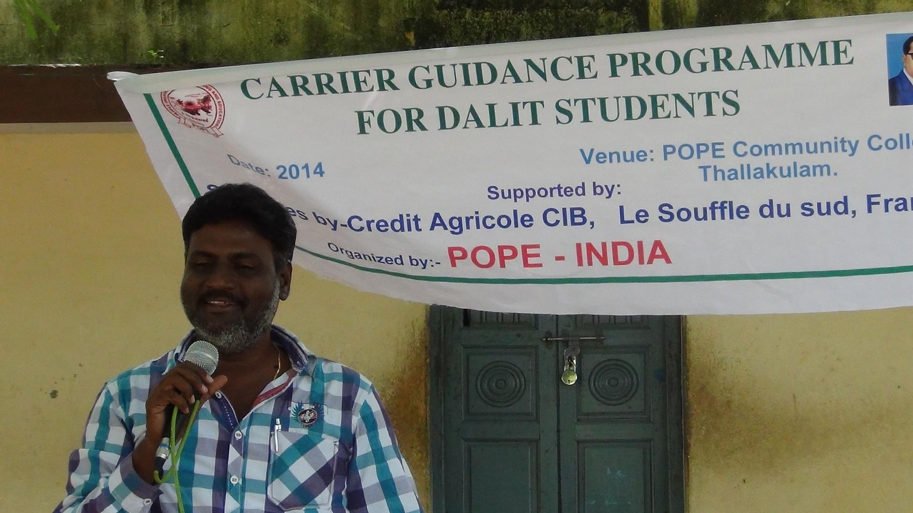 2014 - Lancement du stage d'orientation professionnelle sponsorisé par CA CIB