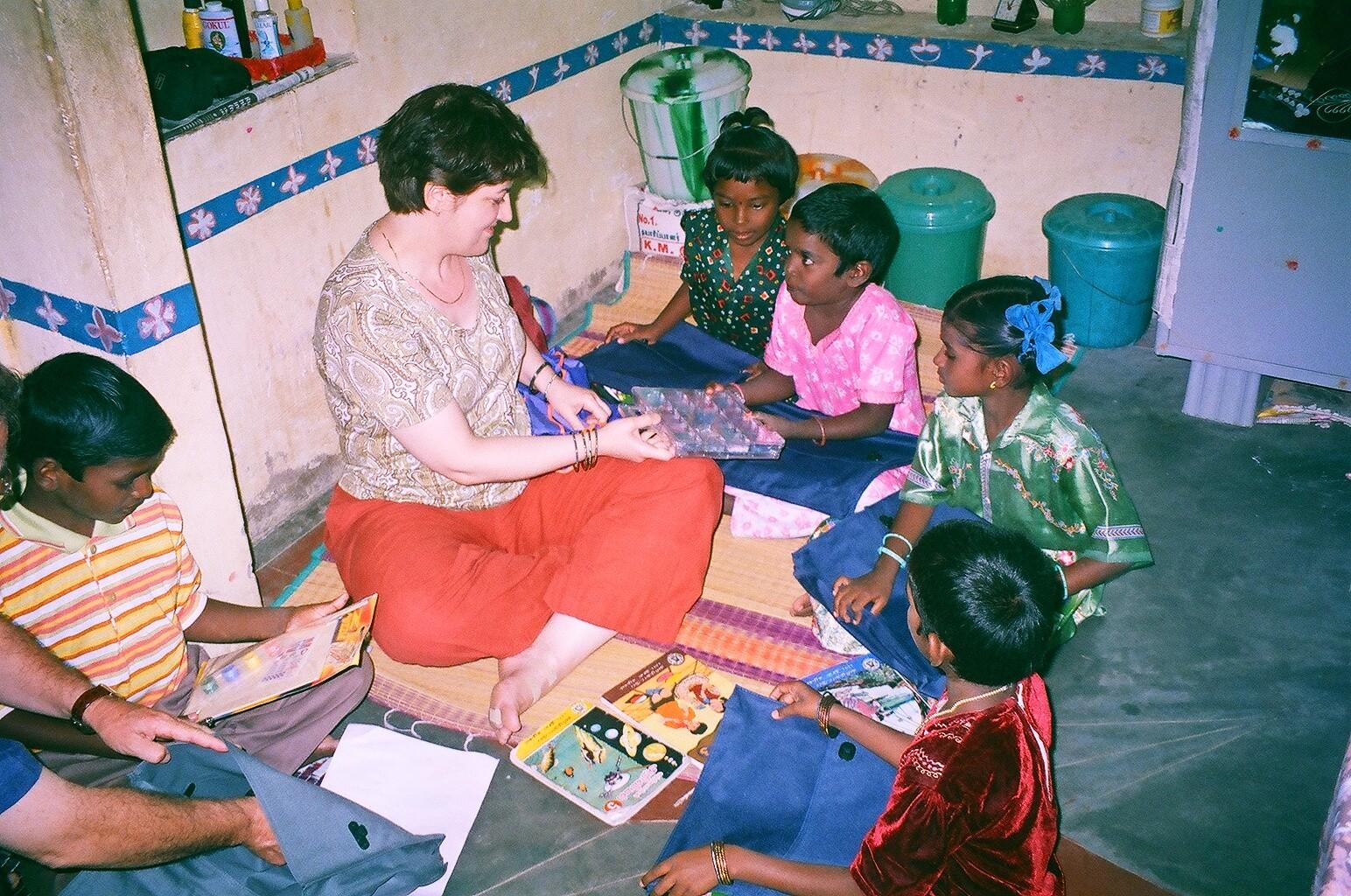 Rencontre avec des enfants parrainés - Novembre 2005