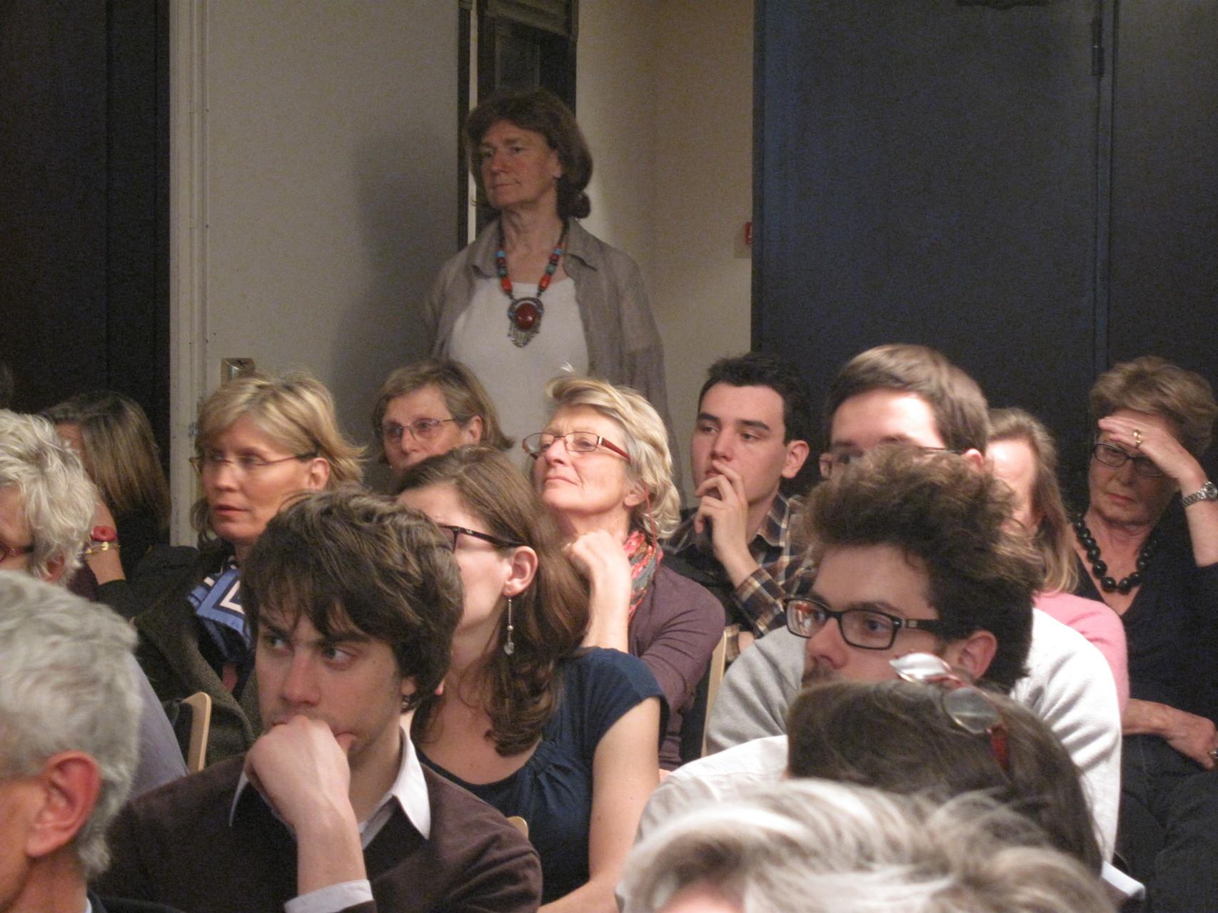2012 - Florence Grenot organisatrice de cette soirée