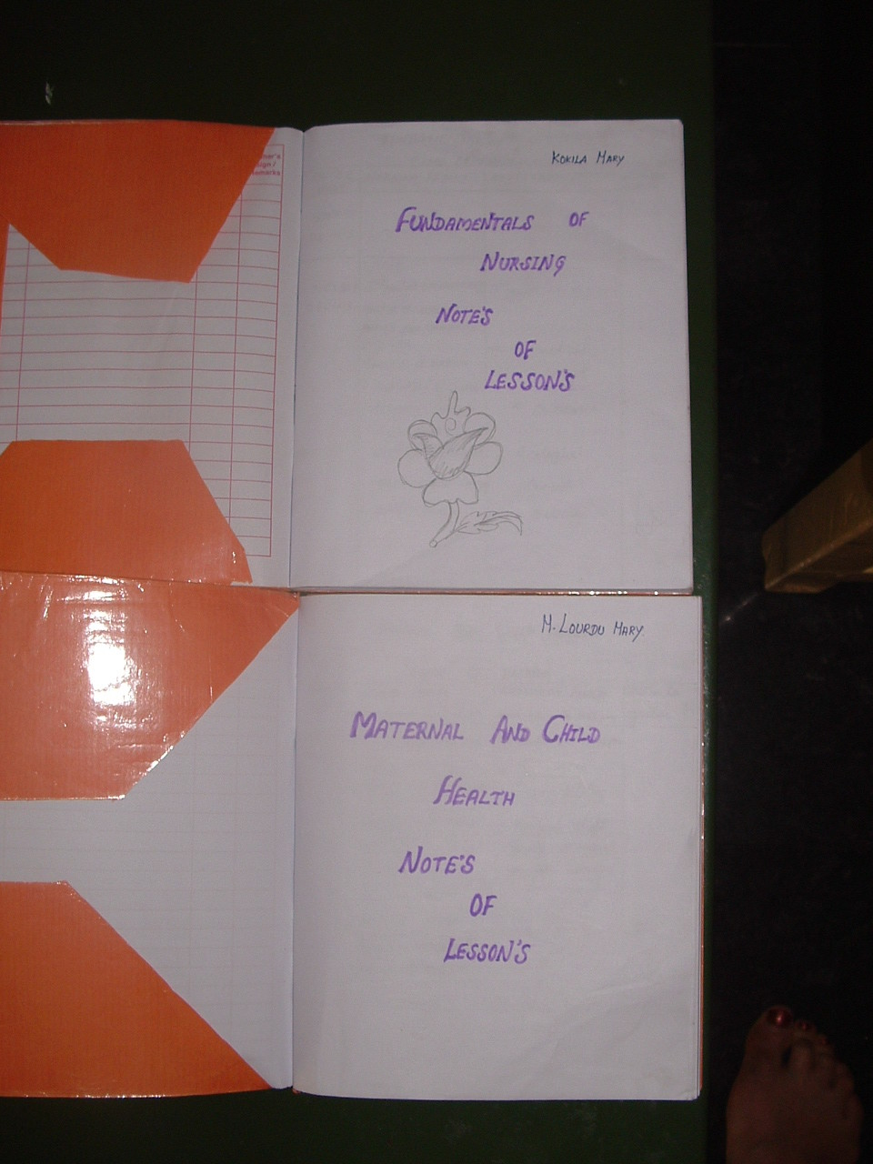 Janvier 2014 - Cahier de Cours