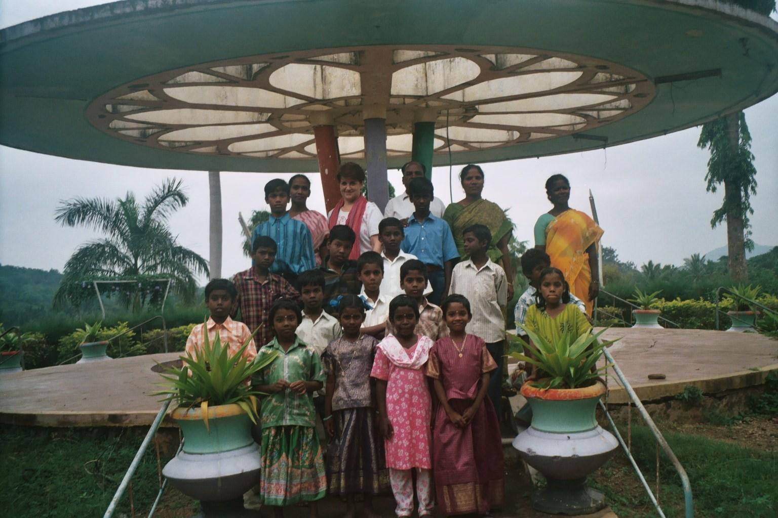 Sortie avec les enfants au barrage et parc d'exposition de Sathanur Dam - Décembre 2005
