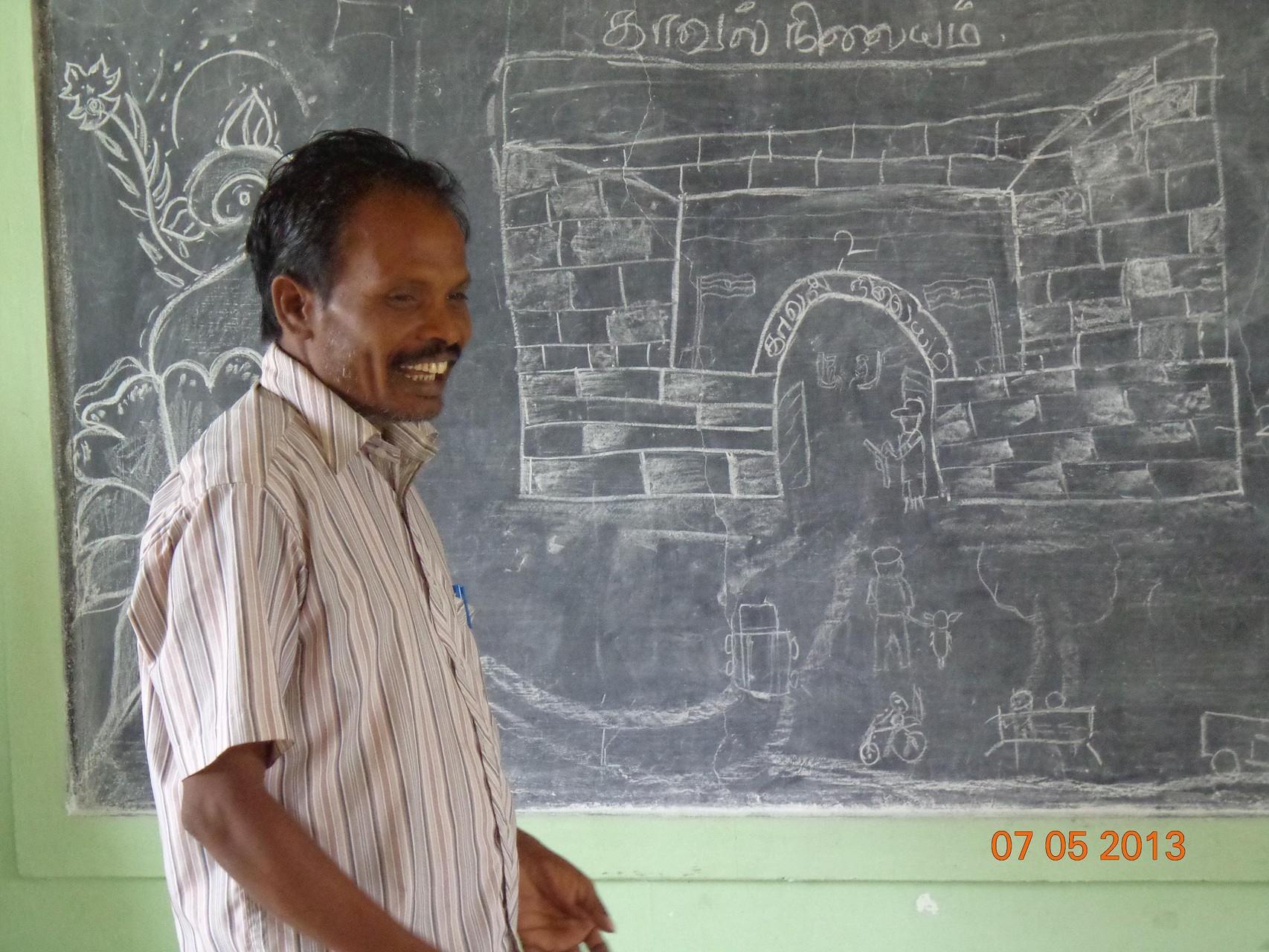 Eté 2013 - Cours de dessin avec Jagadisen