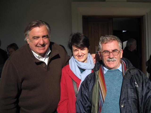 Mikel Epalza, prêtre et représentant de La Mission de la Mer auprès des pêcheurs basques, nous a invités à témoigner de la vie des Dalits et des actions menées par POPE lors de la messe du Noël maritime à Sokoa - Décembre 2009