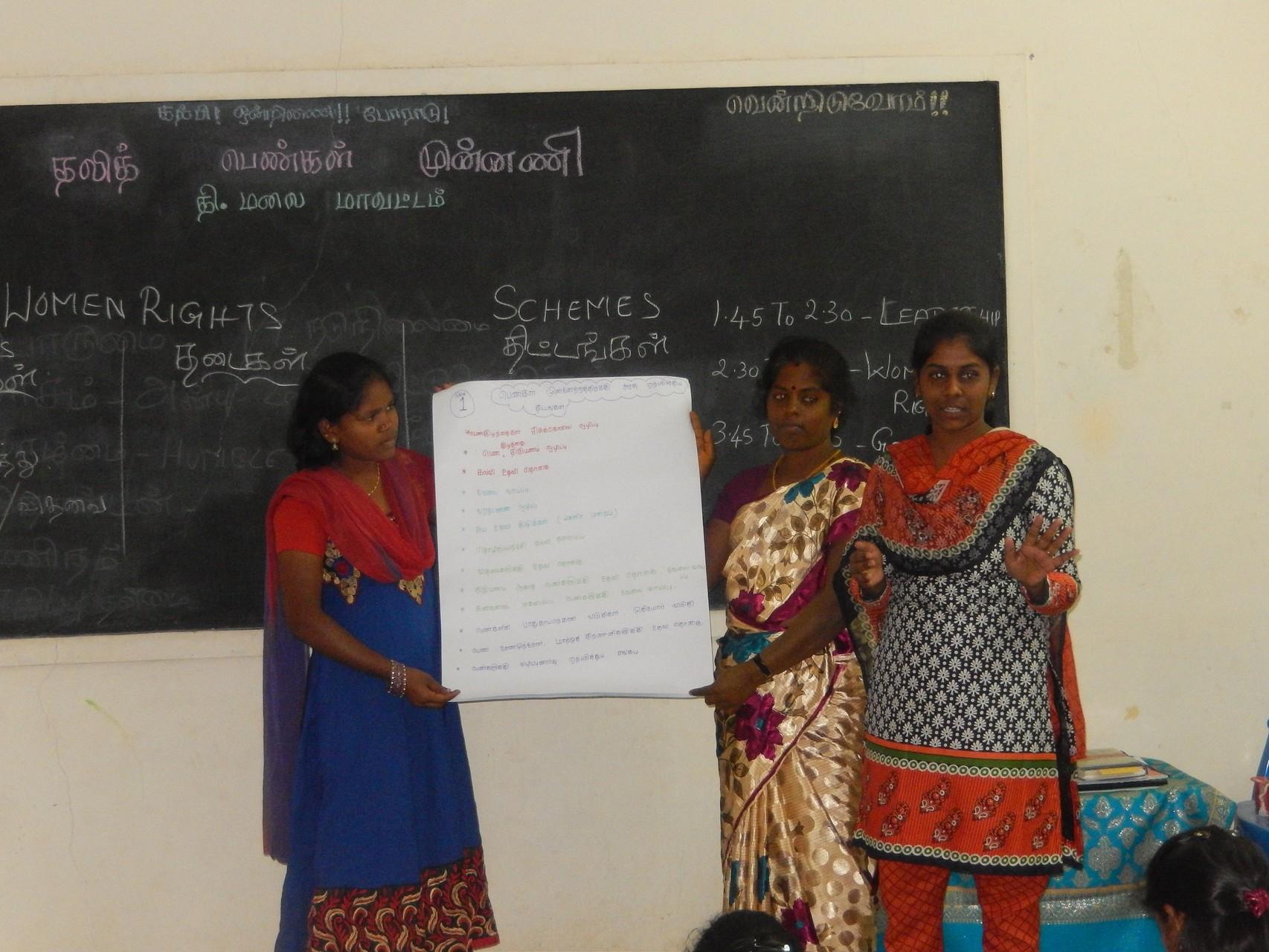 Novembre 2014 - Identification des problèmes et présentation des actions àmener