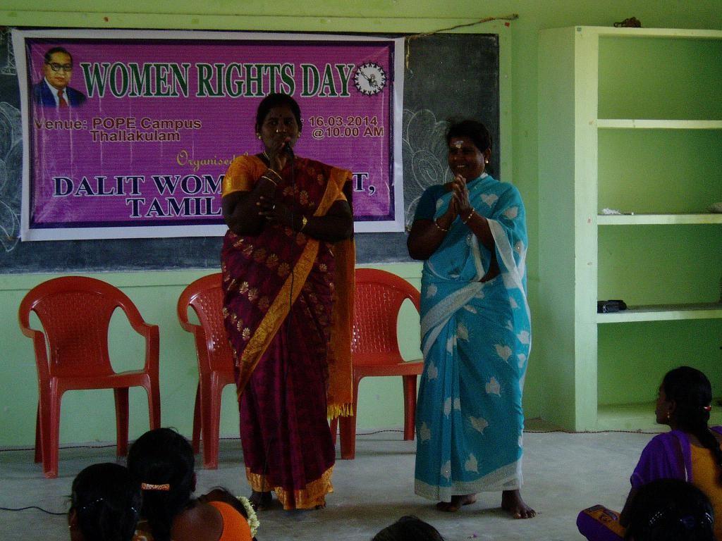 16 mars 2014 - Journée de la femme à Suvasam