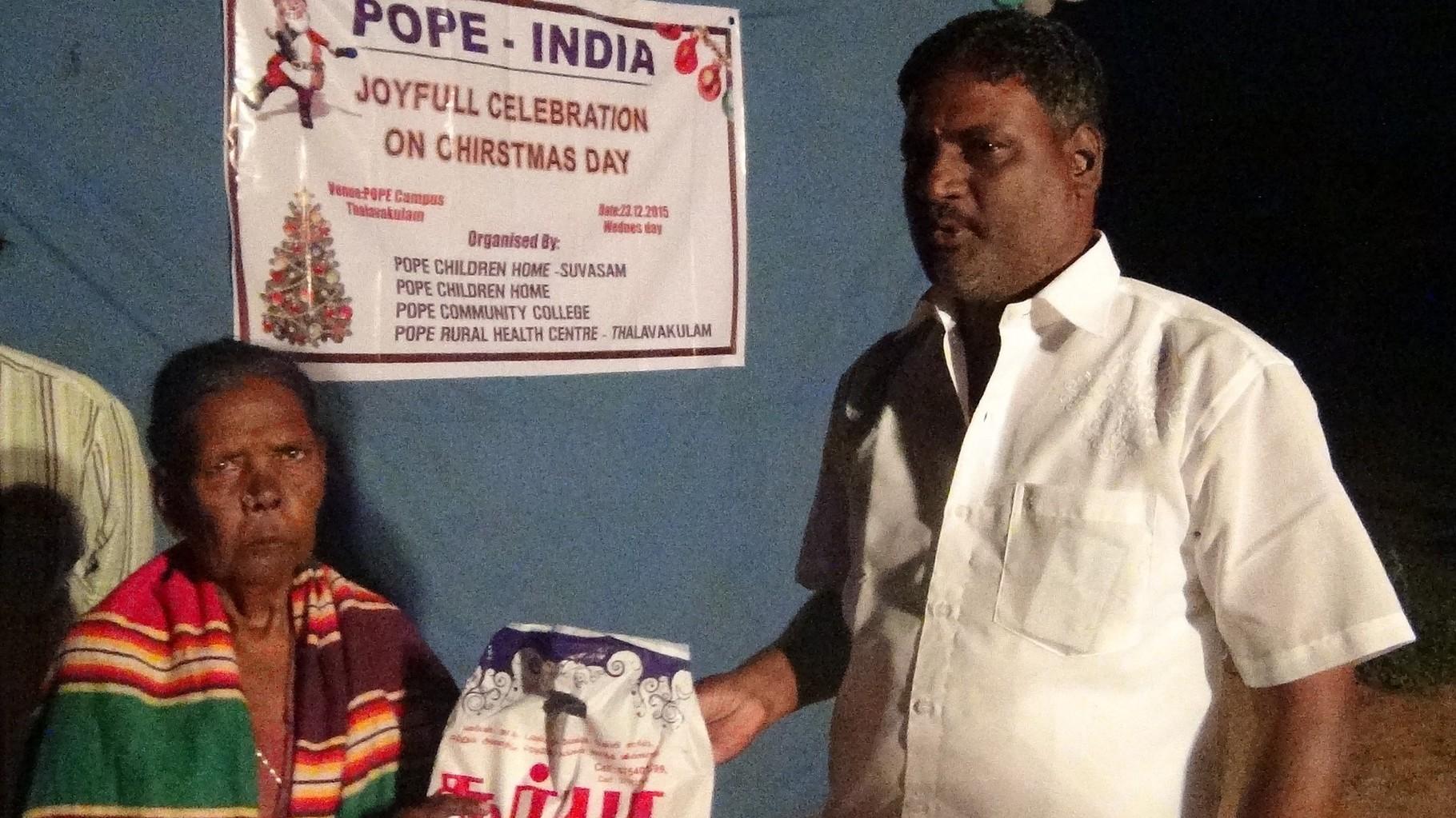 Noël 2015 à Thallakulam