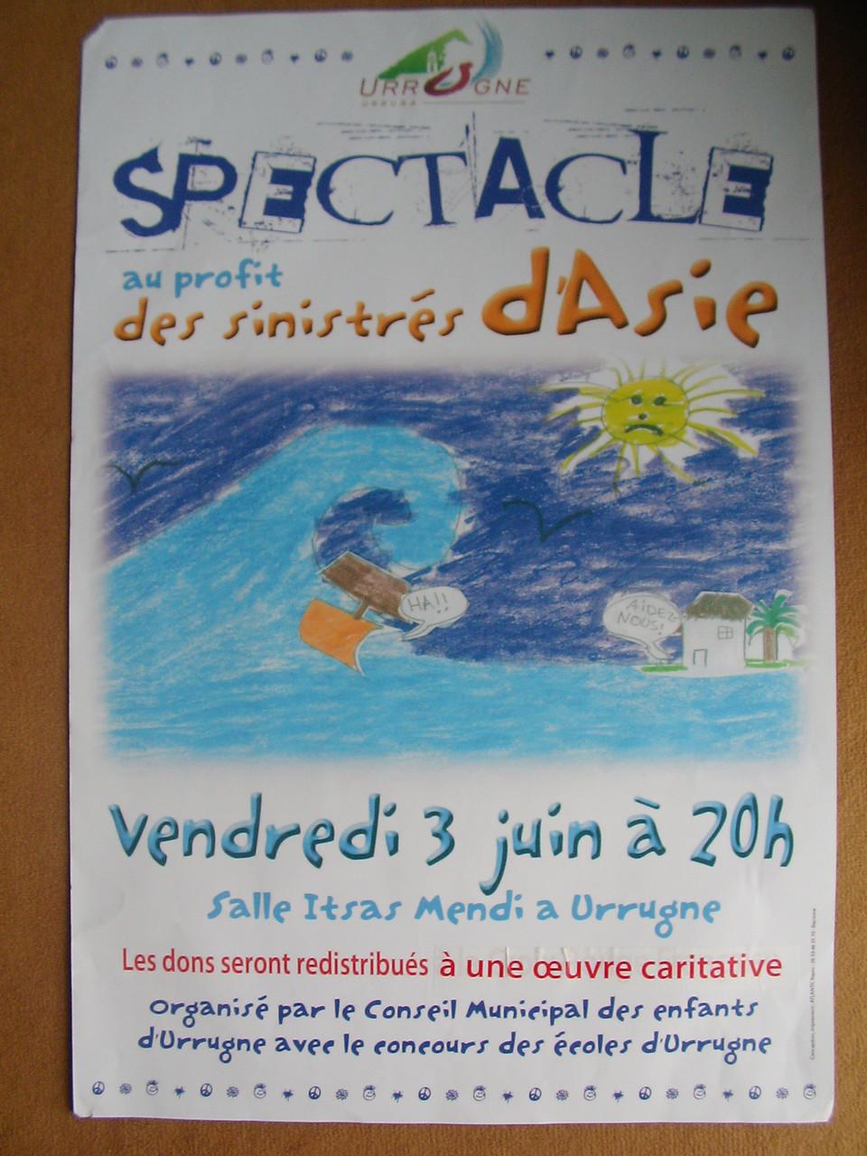 Juin 2005 - Les jeunes encadrés par Battite Garmendia, Thomas Heinis et Odile de Coral