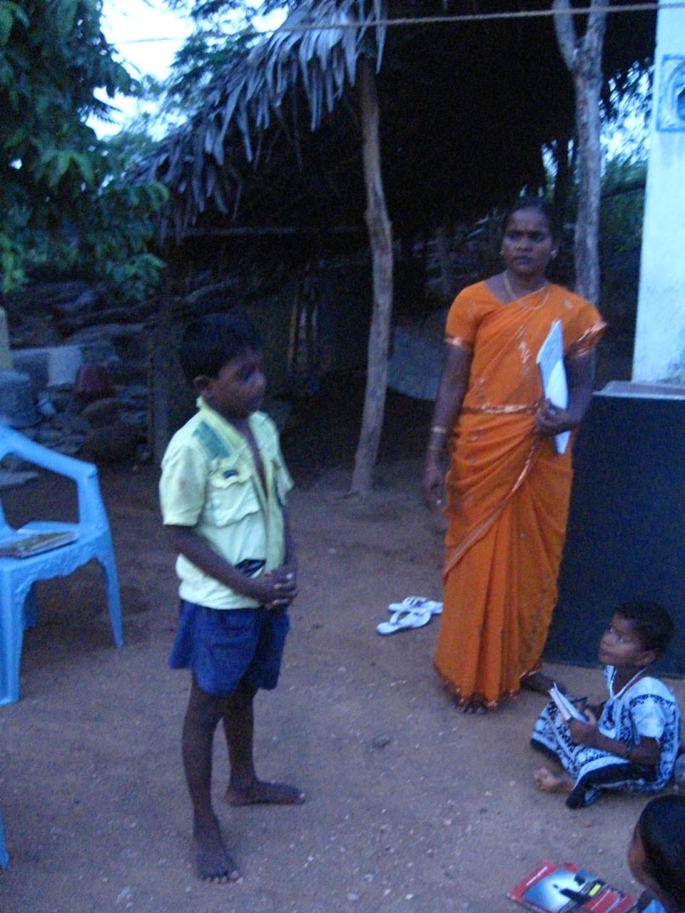 Récitation à Somasipadi