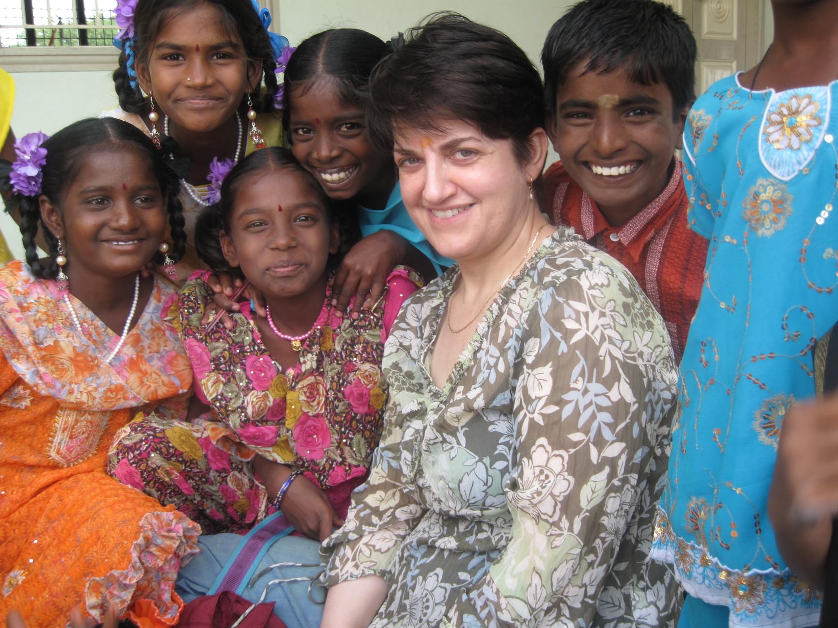 Avec les enfants de Suvasam - Janvier 2009