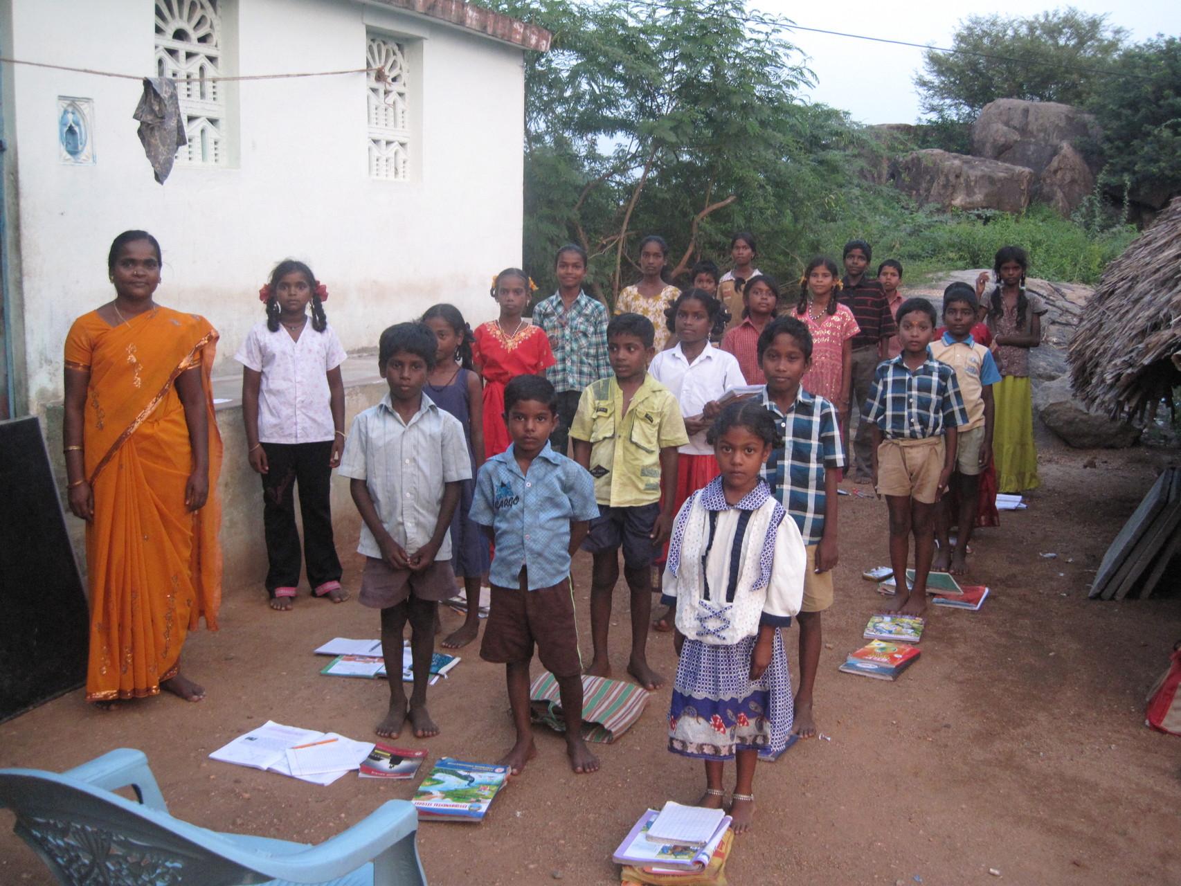 Début des cours à Somasipadi