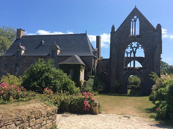 Abbaye de Beauport. Photo Françoise Charlet
