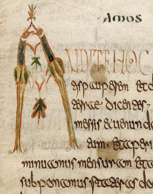 Lectionnaire de Luxeuil, vers 700 - Bibliothèque nationale de France
