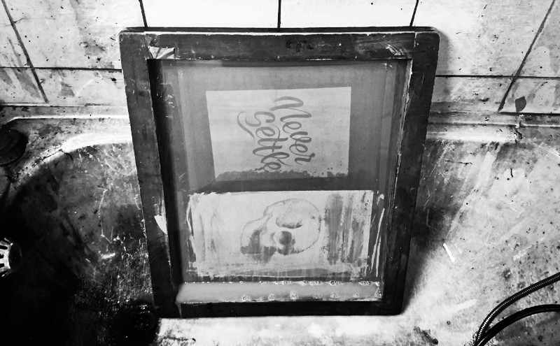 Calligraphie & sérigraphie