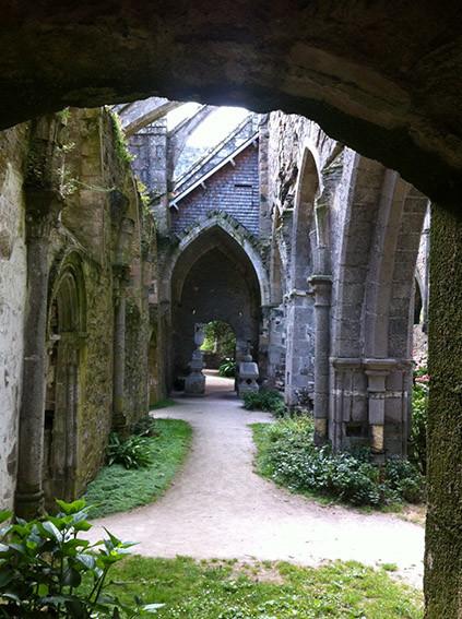Abbaye de Beauport. Photo Annick Jouard