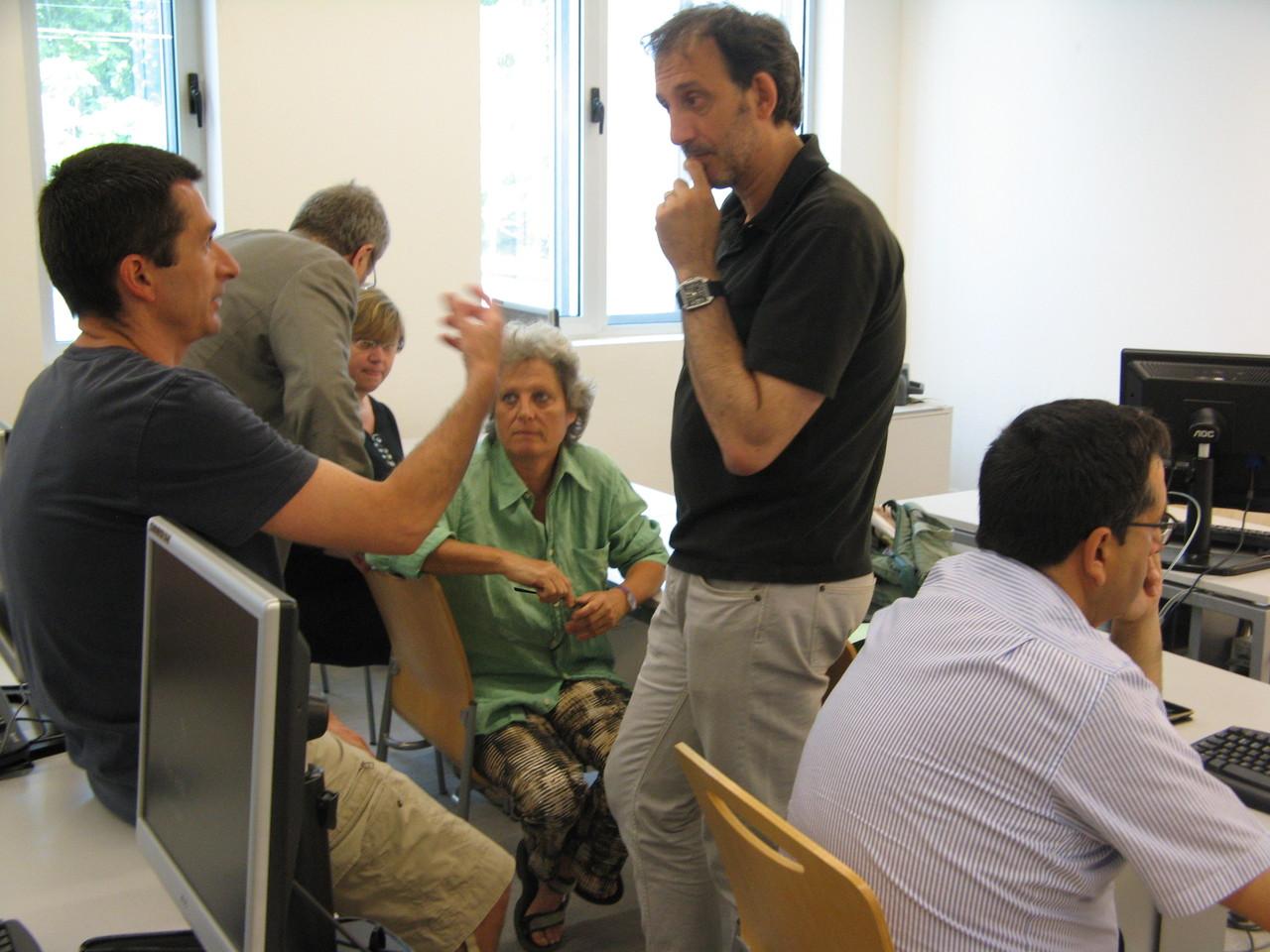 El debat dels grups de discussió va girar entorn la pràctica docent i les oportunitats del programa Cirax