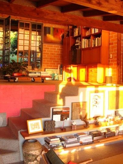 Interior proyectado de Luz